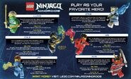 LEGO Ninjago Nindroids Héros