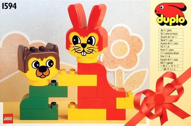 1594 Rabbit and Bear Friend