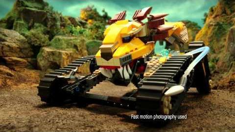 2013 LEGO CHIMA - Playtheme Commandship