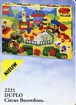 2221 Build N' Play Circus Theme