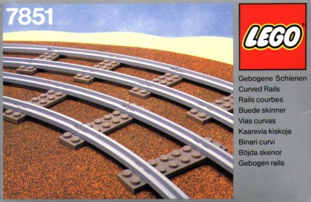 7851 Curved Rails
