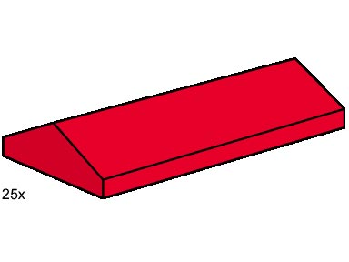 B005 Roof Tiles Sloped Red
