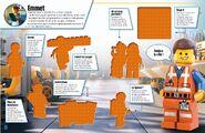 La Grande Aventure LEGO L'album des autocollants 1