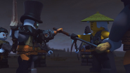 Wu and Iron Baron