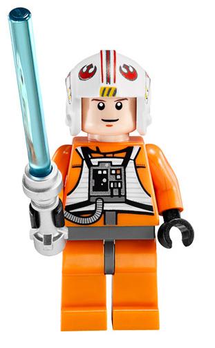 9493 75014 Lego Star Wars Rebel Pilot Porkins Minifigure
