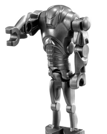 Blue Super Battle Droid Arm LEGO Star Wars Minifigure PART ONLY AS-IS 7163