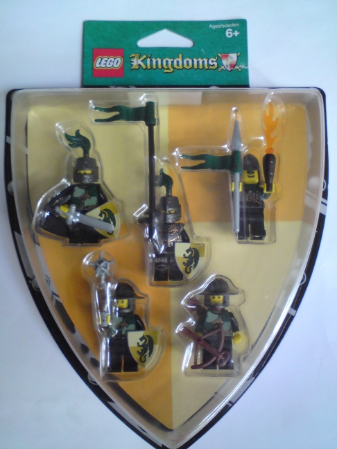 852922 Green Dragon Knights Battle Pack