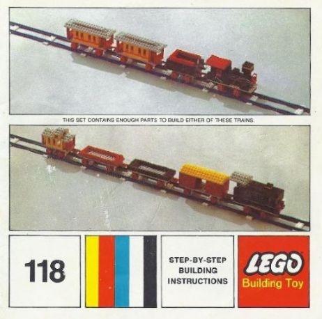 118 Motorized Freight or Passenger Train
