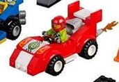 Red Racecar Driver