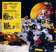 1988 Catalog UK Blacktron-Futuron