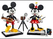 43179 Personnages à construire Mickey Mouse et Minnie Mouse 2