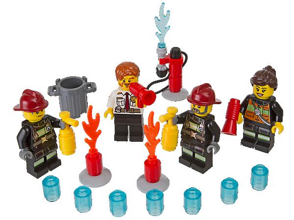 850618 Ensemble d'accessoires Pompiers