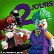 Vignette Batman Movie 2 jours