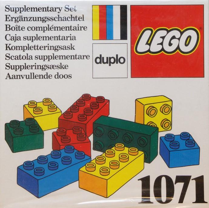 1071 Bricks 2 x 2 and 2 x 4