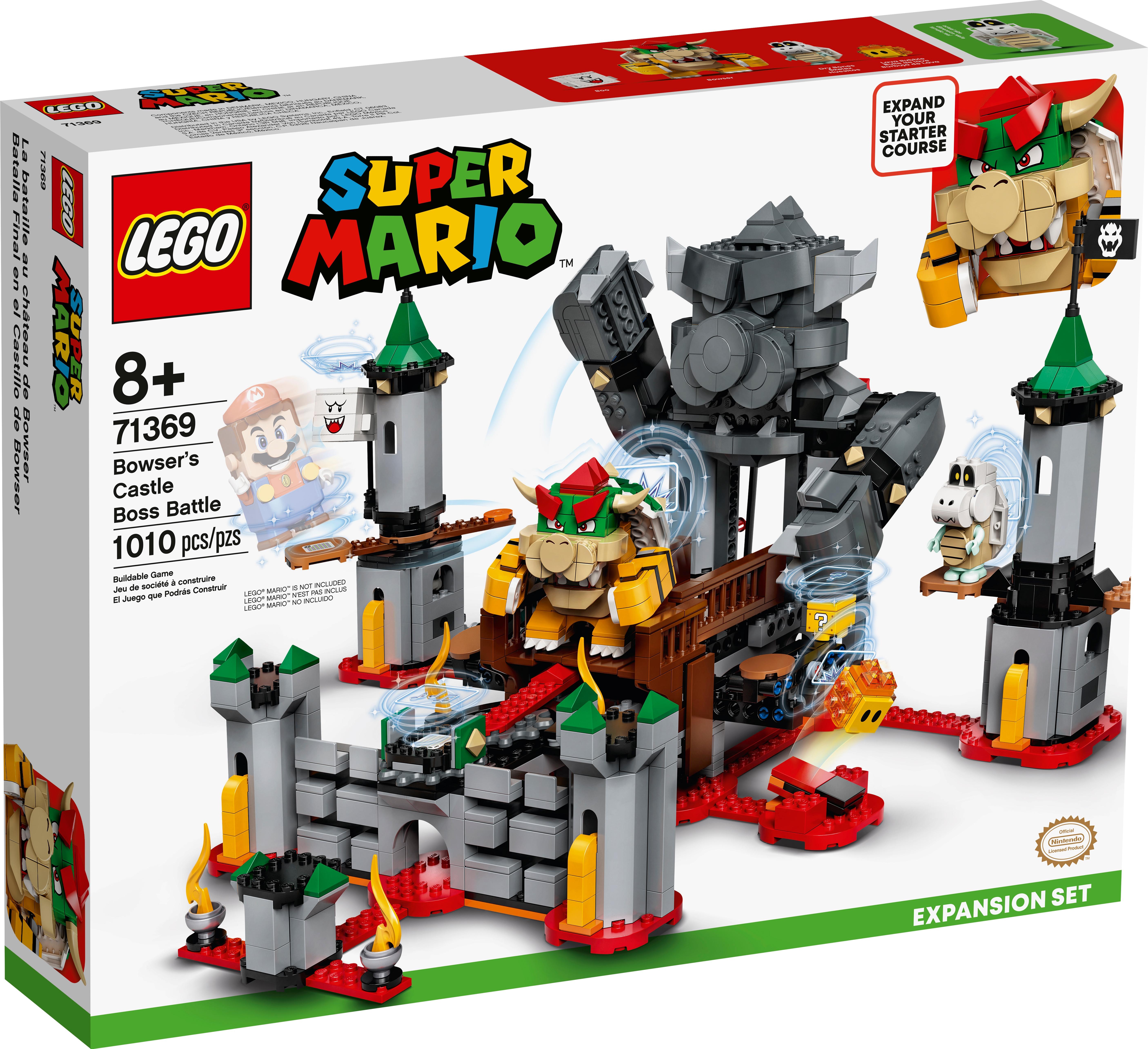 71369 Bowser's Castle Boss Battle