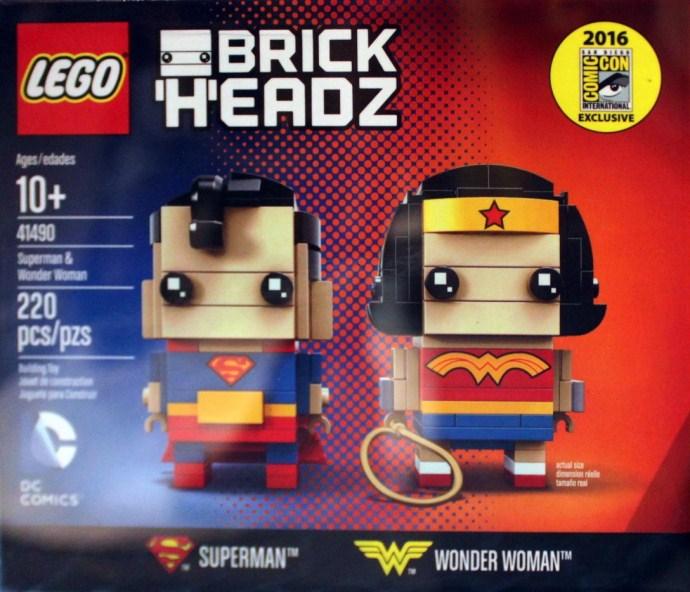 41490 Superman & Wonder Woman