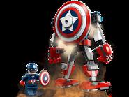 76168 L'armure robot de Captain America 3