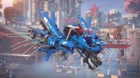 Lightning Jet - LEGO NINJAGO Movie - 70614 - Product Animation