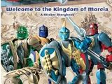 B321 Welcome to the Kingdom of Morcia: A Sticker Storybook