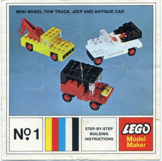 1 Mini-Wheel Model Maker No.1