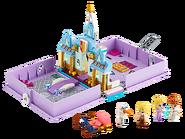 43175 Les aventures d'Anna et Elsa dans un livre de contes