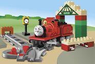 5552 James at Knapford Station