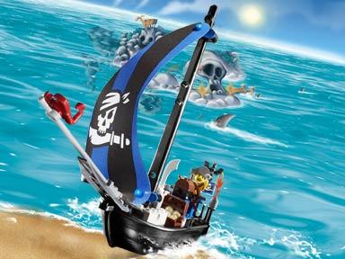 7072 Captain Kragg's Pirate Boat
