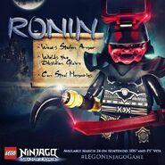 LEGO Ninjago L'Ombre de Ronin 14