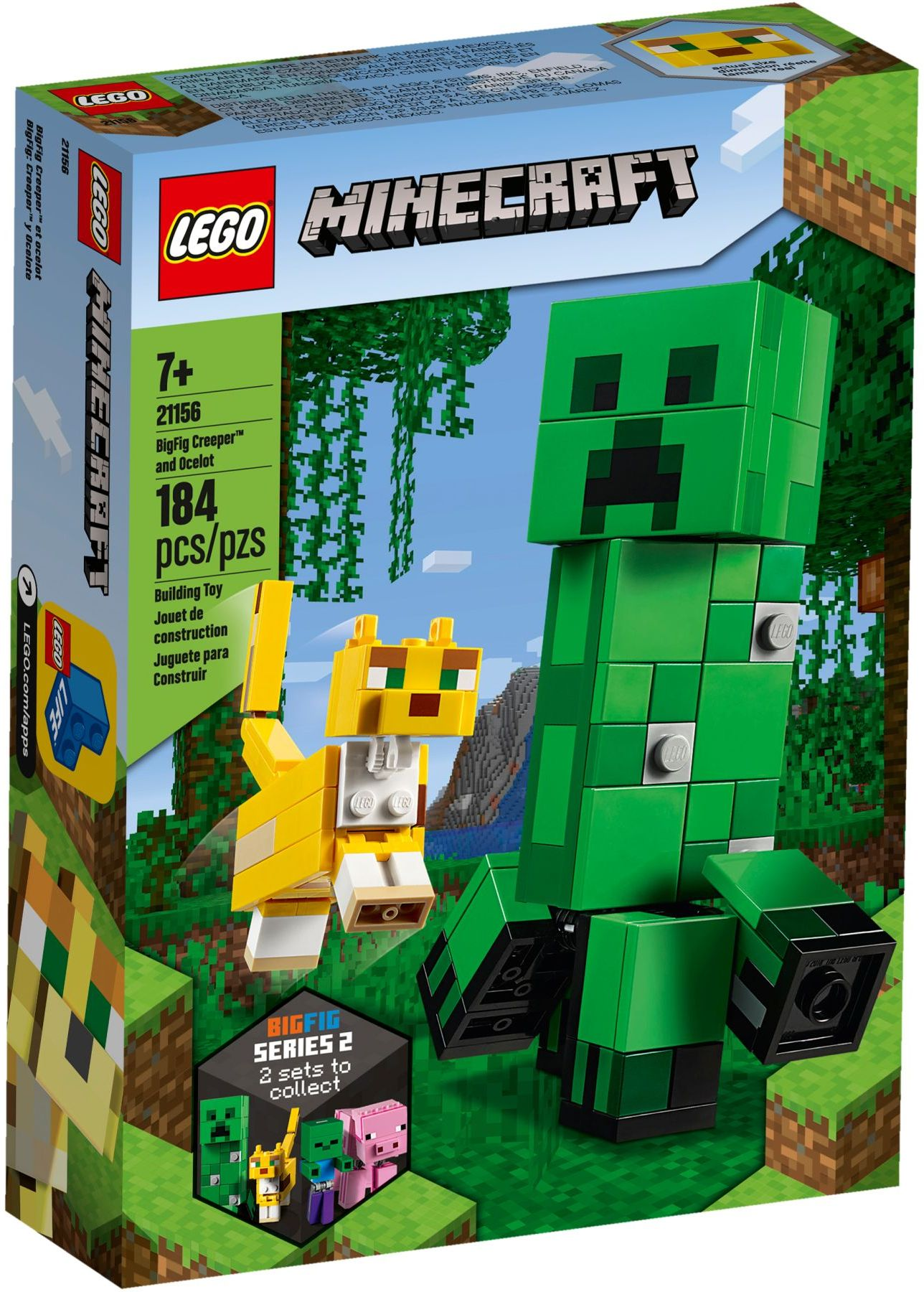 21156 BigFig Creeper and Ocelot