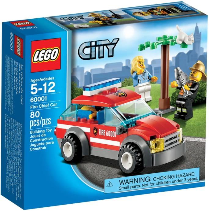 60001 Fire Chief Car