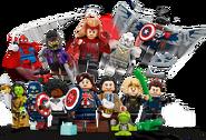 71031 Minifigures Série Marvel Studios