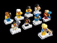 8909 Minifigures Série Équipe olympique britannique 2