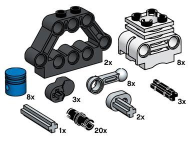 10077 TECHNIC Motor