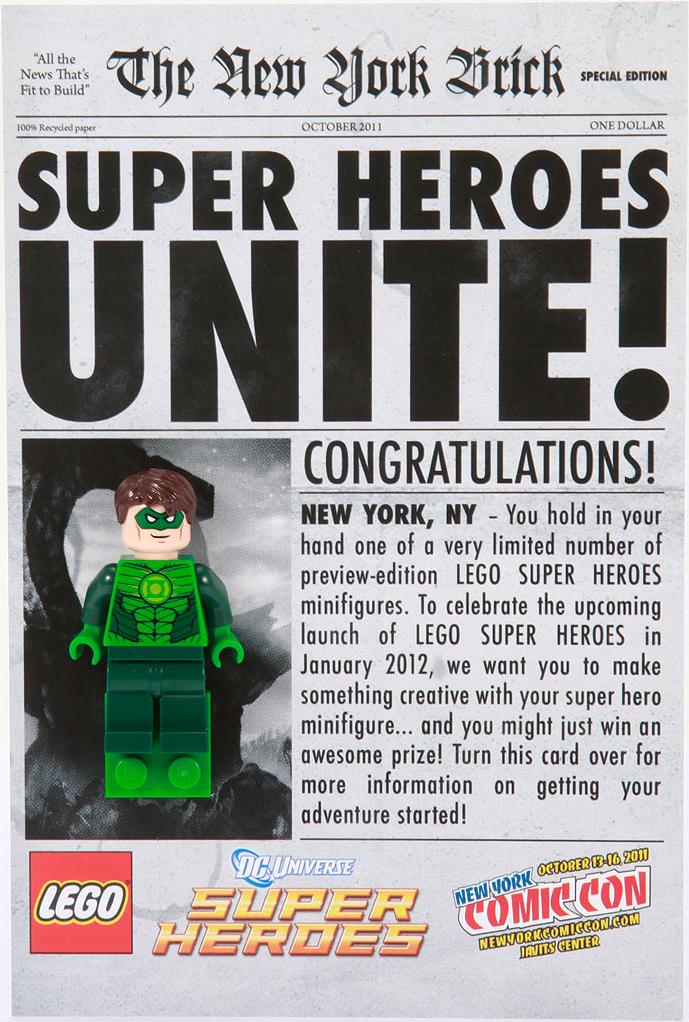 Comic-Con Exclusive Green Lantern Giveaway