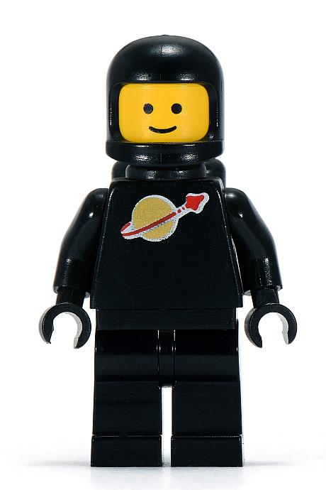 Black Classic Spaceman
