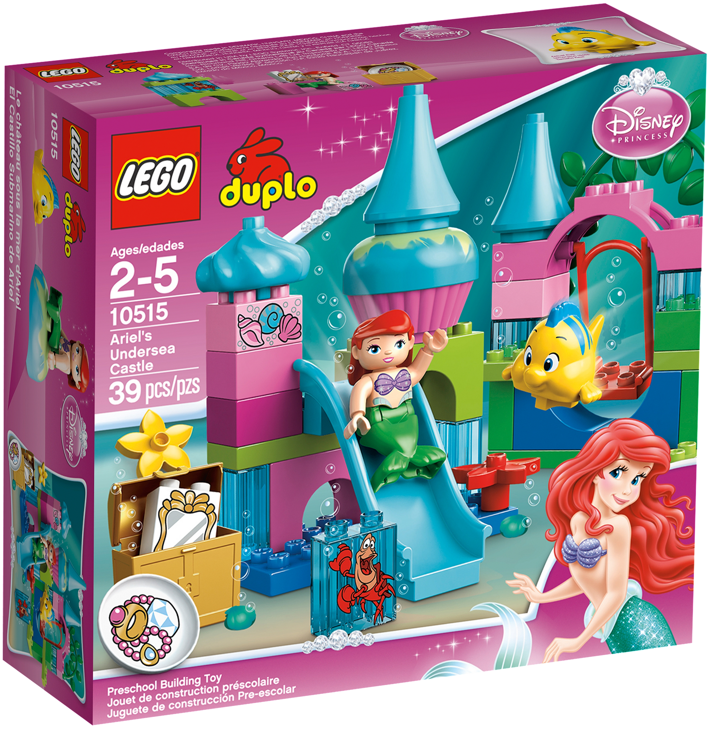 10515 Ariel's Undersea Castle