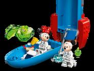 10774 La fusée spatiale de Mickey Mouse et Minnie Mouse 3