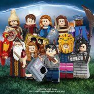 71028 Minifigures Série 2 Harry Potter 3