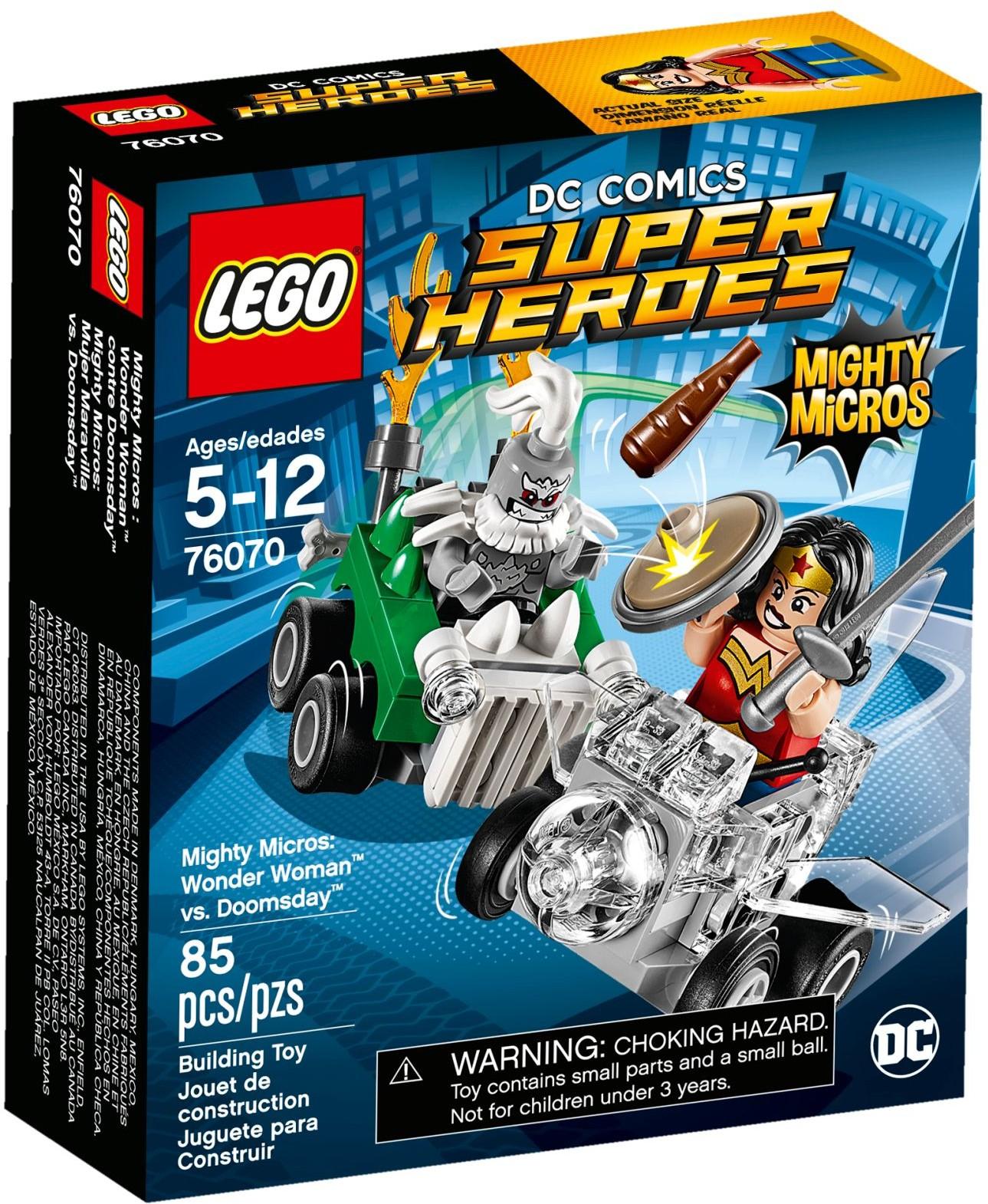 76070 Mighty Micros: Wonder Woman vs. Doomsday