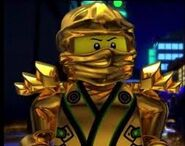 Lloyd ninja dorado