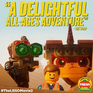 TheLegoMovie2 CertifiedFresh