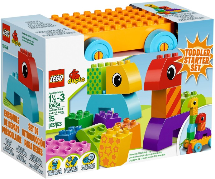 10554 Toddler Build and Pull Along