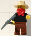 9349 Western Abenteurer Minifigur