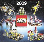 Catalogo prodotti LEGO® per il 2009 (seconda metà) - Pagina 01