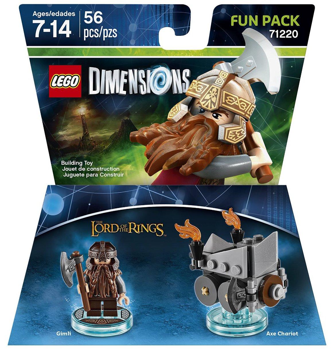 71220 Lord of the Rings Gimli Fun Pack