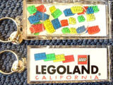 KC42 LEGOLAND California Floating Brick Key Chain