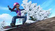 Tenue 1a-La compétition de snowboard