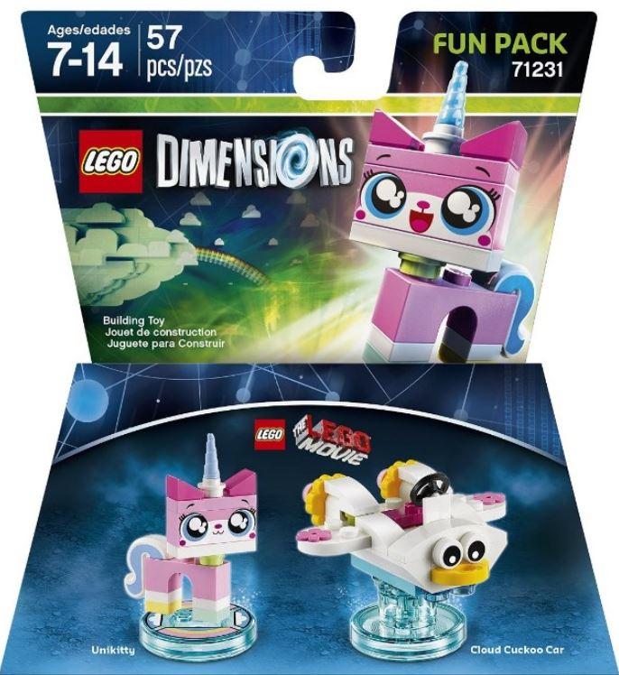 71231 LEGO Movie Unikitty Fun Pack