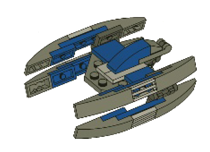 30055 Droid Fighter