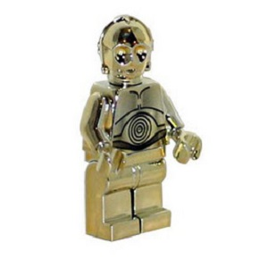 4521221 Gold chrome plated C-3PO